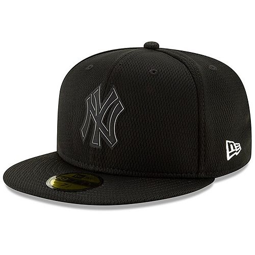 Men's New Era Black New York Yankees Clubhouse Collection 59FIFTY Fitted Hat