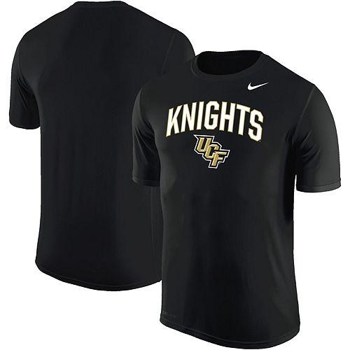 Men's Nike Black UCF Knights Arch Over Logo Performance T-Shirt