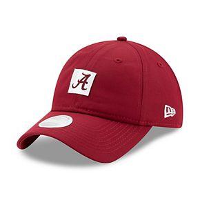 Women's New Era Crimson Alabama Crimson Tide Sleekest Fan 9TWENTY Hat