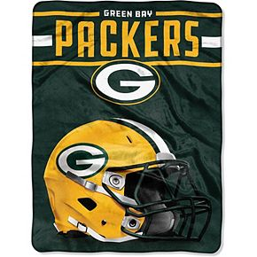"""The Northwest Company Green Bay Packers 60"""" x 80"""" Jet Sweep Silk Touch Throw Blanket"""
