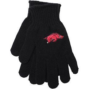 Black Arkansas Razorbacks Tailgate Gloves