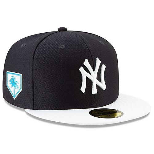 Men's New Era Navy/White New York Yankees 2019 Spring Training 59FIFTY Fitted Hat