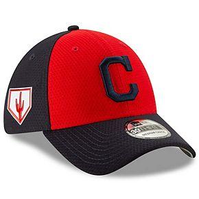 Men's New Era Red/Navy Cleveland Indians 2019 Spring Training 39THIRTY Flex Hat