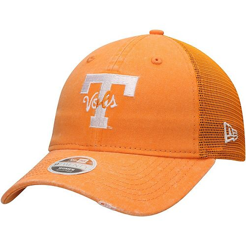 Women's New Era Tennessee Orange Tennessee Volunteers Tonal Washed 9TWENTY Adjustable Hat