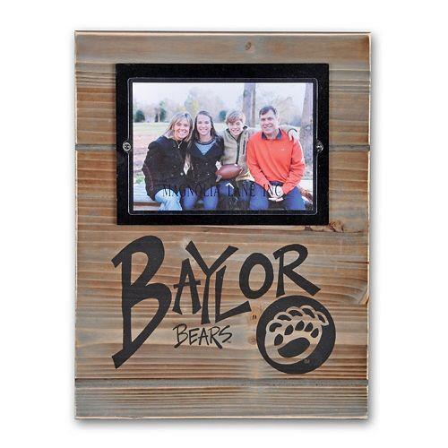 "Baylor Bears 11"" x 14.5"" Wood Frame"