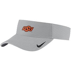 Oklahoma State Cowboys Nike Sideline Performance Visor - Silver