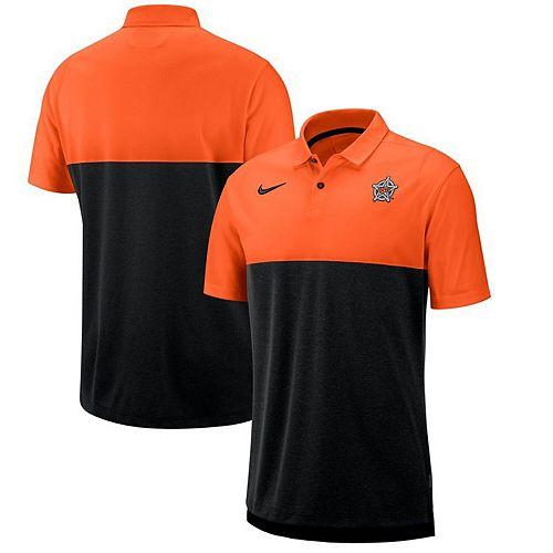 Oklahoma State Cowboys Nike 2019 Early Season Coaches Polo  Orange/Black