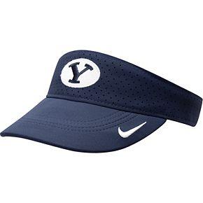 BYU Cougars Nike Sideline Performance Visor  Navy