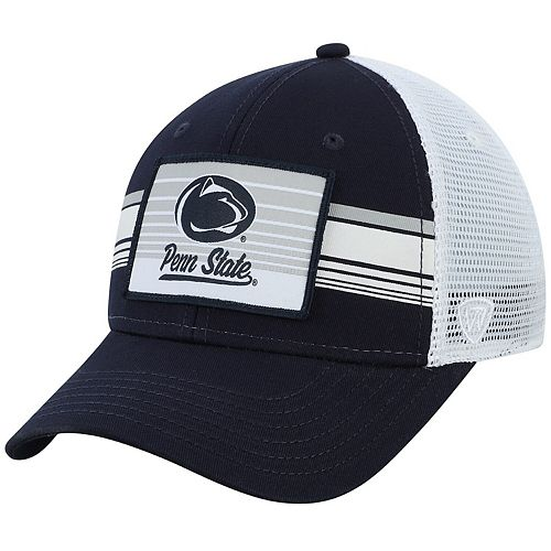 Penn State Nittany Lions Top of the World Breeze Trucker Adjustable Hat - Navy