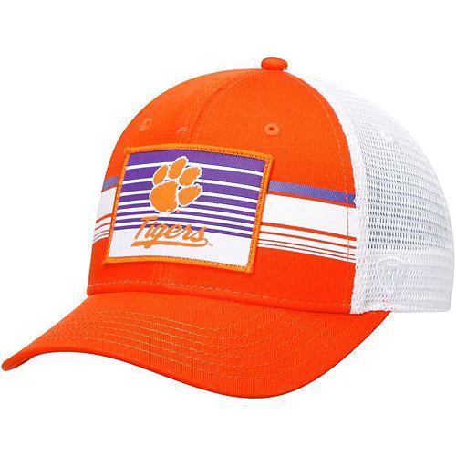 Clemson Tigers Top of the World Breeze Trucker Adjustable Hat - Orange