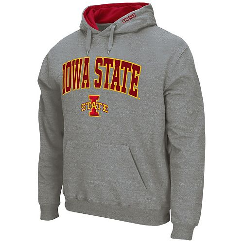 IOWA STATE CYCLONES KIDS TODDLERS GREY EMBROIDERED HOODED SWEATSHIRT NEW