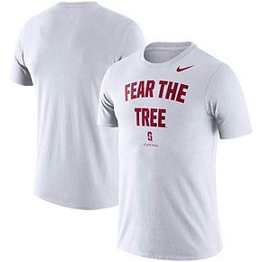 Men's Nike White Stanford Cardinal Phrase Performance T-Shirt