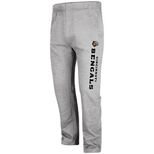 Men's Majestic Heathered Gray Cincinnati Bengals Critical Victory Pants