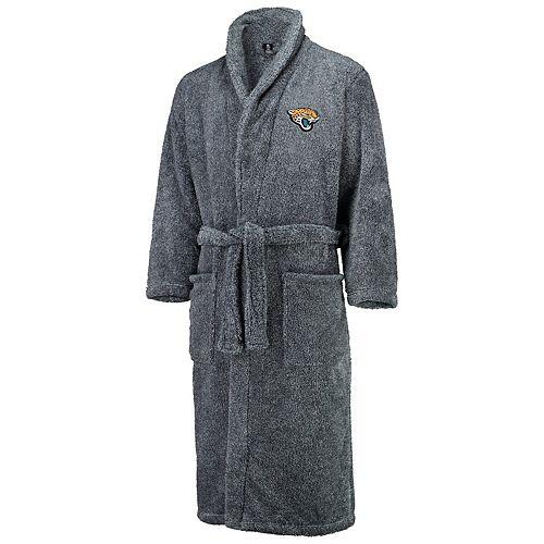 Men's Concepts Sport Charcoal Jacksonville Jaguars Trifecta Robe