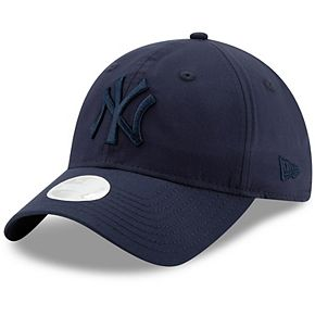 Women's New Era Navy New York Yankees Crisp Pick 9TWENTY Adjustable Hat