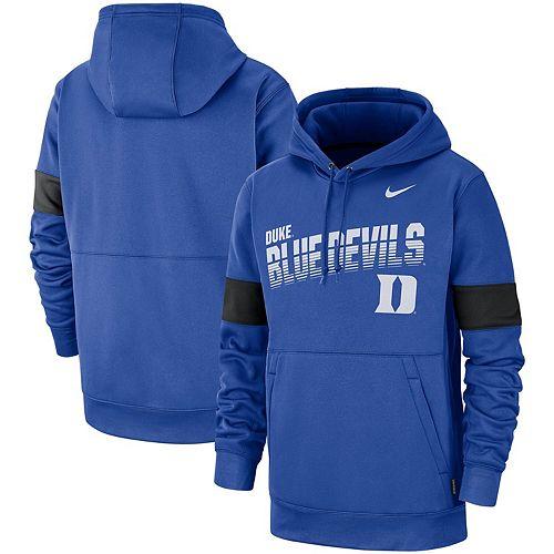Men's Nike Royal Duke Blue Devils 2019 Sideline Therma-FIT Perfromance Hoodie