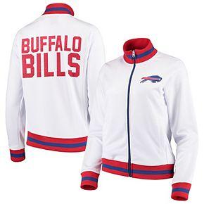 Women's G-III 4Her by Carl Banks White Buffalo Bills Field Goal Track Jacket