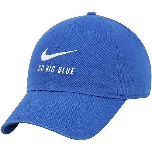 Men's Nike Royal Kentucky Wildcats Big Swoosh Heritage 86 Adjustable Hat