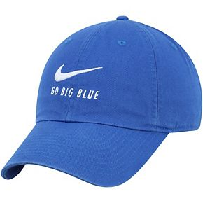 Men's Nike Royal Kentucky Wildcats Big Swoosh Heritage 86 Adjustable Hat