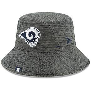 Men's New Era Graphite Los Angeles Rams 2019 NFL Training Camp Bucket Hat