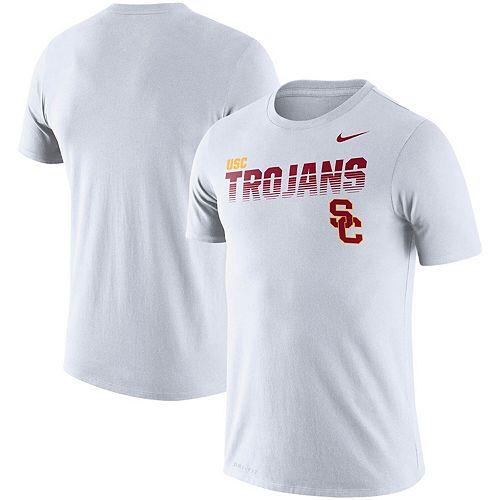 Men's Nike White USC Trojans Sideline Legend Performance T-Shirt