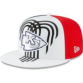Kansas City Chiefs New Era 2019 NFL Draft Spotlight 9FIFTY Adjustable Snapback Hat  White