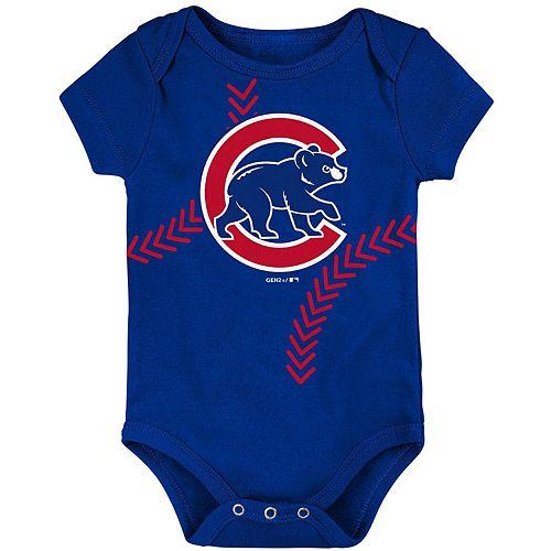 Newborn & Infant Royal Chicago Cubs Running Home Bodysuit