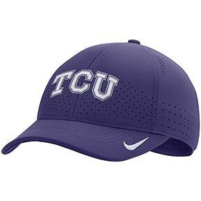 Men's Nike Purple TCU Horned Frogs Classic 99 Sideline Performance Flex Hat