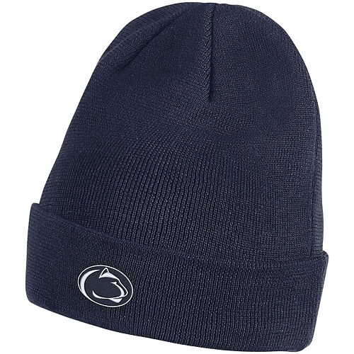 Men's Nike Navy Penn State Nittany Lions Sideline Performance Cuffed Knit Hat