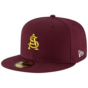 Men's New Era Maroon Arizona State Sun Devils Basic 59FIFTY Fitted Hat