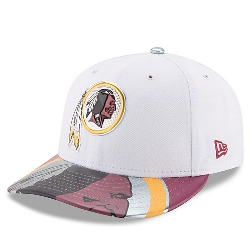 Men's New Era White Washington Redskins 2017 NFL Draft On Stage Low Profile 59FIFTY Fitted Hat