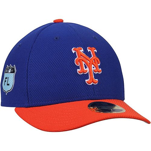 Men's New Era Royal New York Mets 2017 Spring Training Diamond Era Low Profile 59FIFTY Fitted Hat
