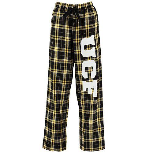 Women's Black UCF Knights Flannel Pajama Pants