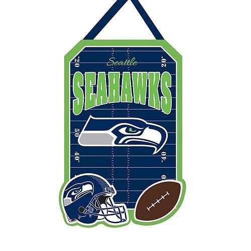 "Seattle Seahawks 20.5"" x 16.5"" Felt Door Decor Wall Banner"