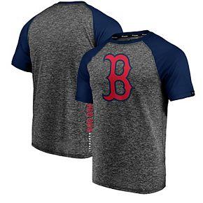 Men's Fanatics Branded Charcoal/Navy Boston Red Sox Static T-Shirt