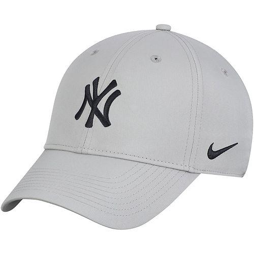 Men's Nike Gray New York Yankees Legacy 91 Adjustable Performance Hat