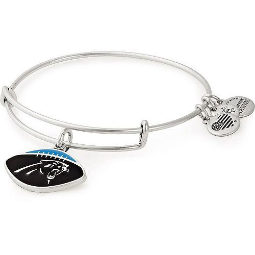 Women's Alex & Ani Carolina Panthers Stack Bracelet