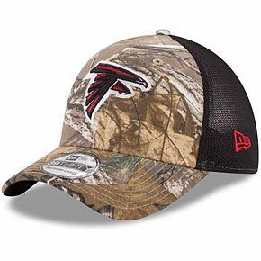 Men's New Era Realtree Camo/Black Atlanta Falcons Trucker 39THIRTY Flex Hat