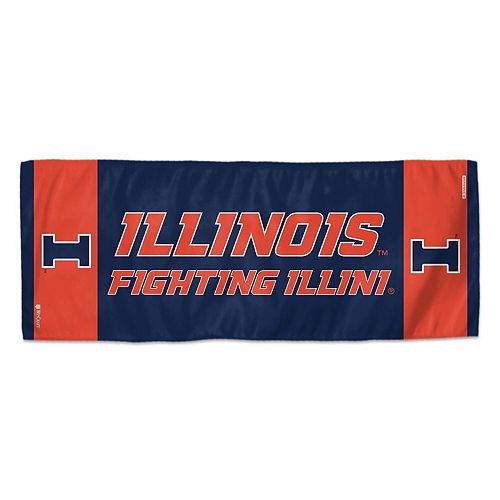 """WinCraft Illinois Fighting Illini 12"""" x 30"""" Primary Double-Sided Cooling Towel"""