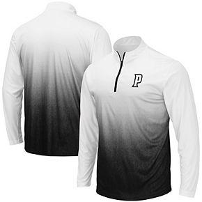 Men's Colosseum Gray Providence Friars Magic Team Logo Quarter-Zip Jacket