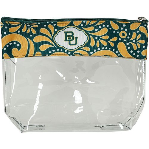 Baylor Bears Clear Travel Pouch
