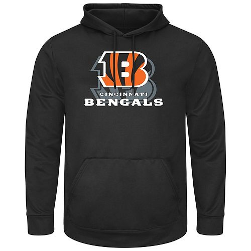 Men's Black Cincinnati Bengals Pick Six Pullover Hoodie