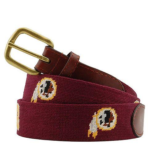 Washington Redskins Needlepoint Belt