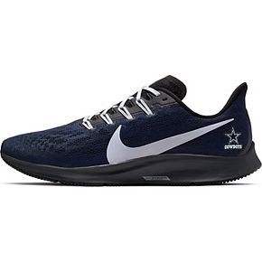Men's Nike Navy/Gray Dallas Cowboys Air Zoom Pegasus 36 Running Shoes