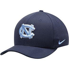 Men's Nike Navy North Carolina Tar Heels Team Classic Logo 99 Swoosh Performance Flex Hat
