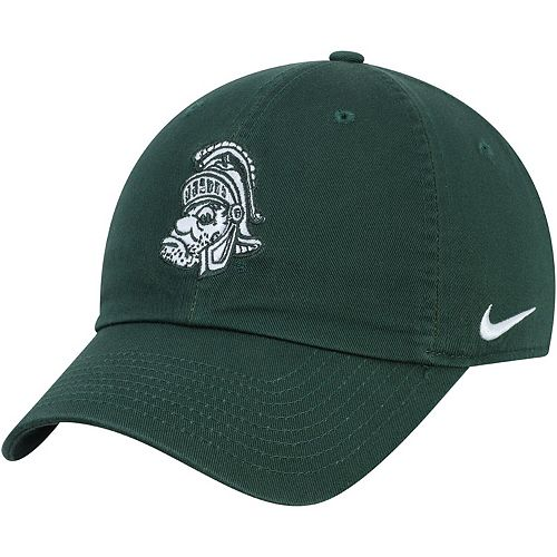 Men's Nike Green Michigan State Spartans Heritage 86 Logo Adjustable Hat