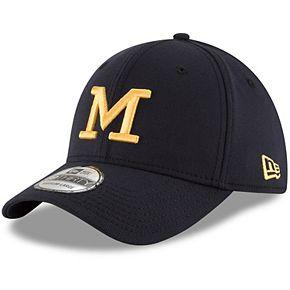 Men's New Era Navy Michigan Wolverines College Classic 39Thirty Flex Hat