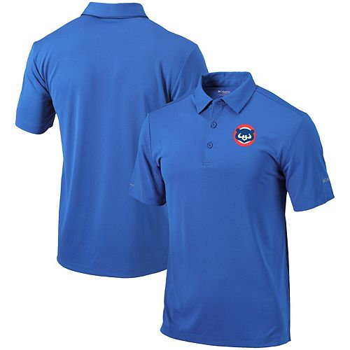 Men's Columbia Royal Chicago Cubs Cooperstown Collection Drive Polo