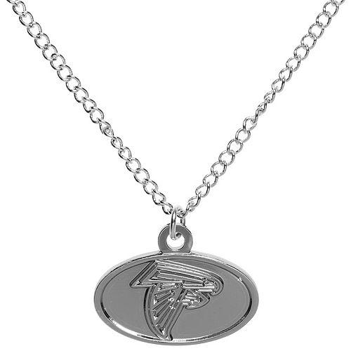 Women's WinCraft Silver Atlanta Falcons Logo Necklace