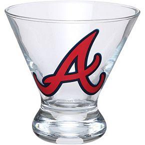 Atlanta Braves Martini Glass